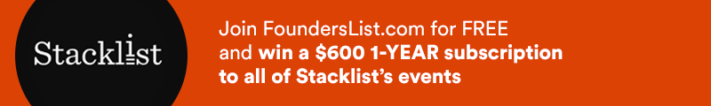 Win a $600 subscription with StackList